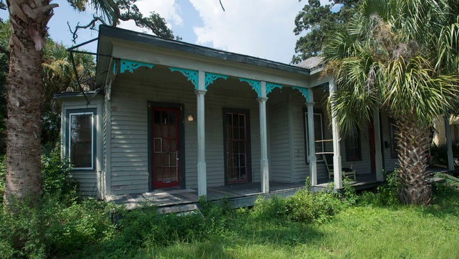 This more than 100-year-old home located at 422 West Gregory is under threat of demolition. A local company is looking to develop the property into residential townhouses