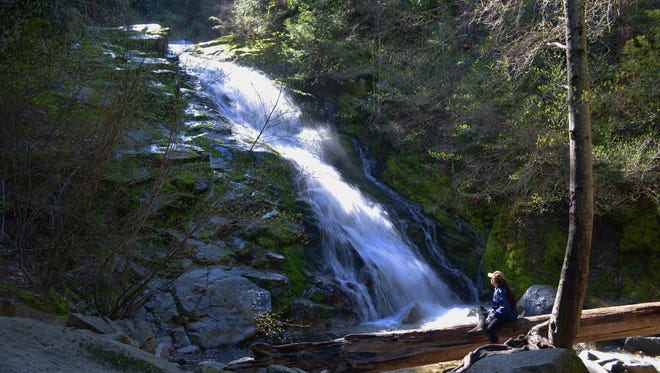 Whiskeytown Falls is one of the four falls featured in the annual Whiskeytown Waterfall Challenge. It's a 3.4-mile, round-trip hike to the falls.