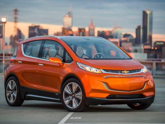 Chevrolet Bolt – Chevrolet hopes to take electric cars mainstream with this affordable model, which aims to deliver a cruising range of 200 miles with prices starting around $30,000.