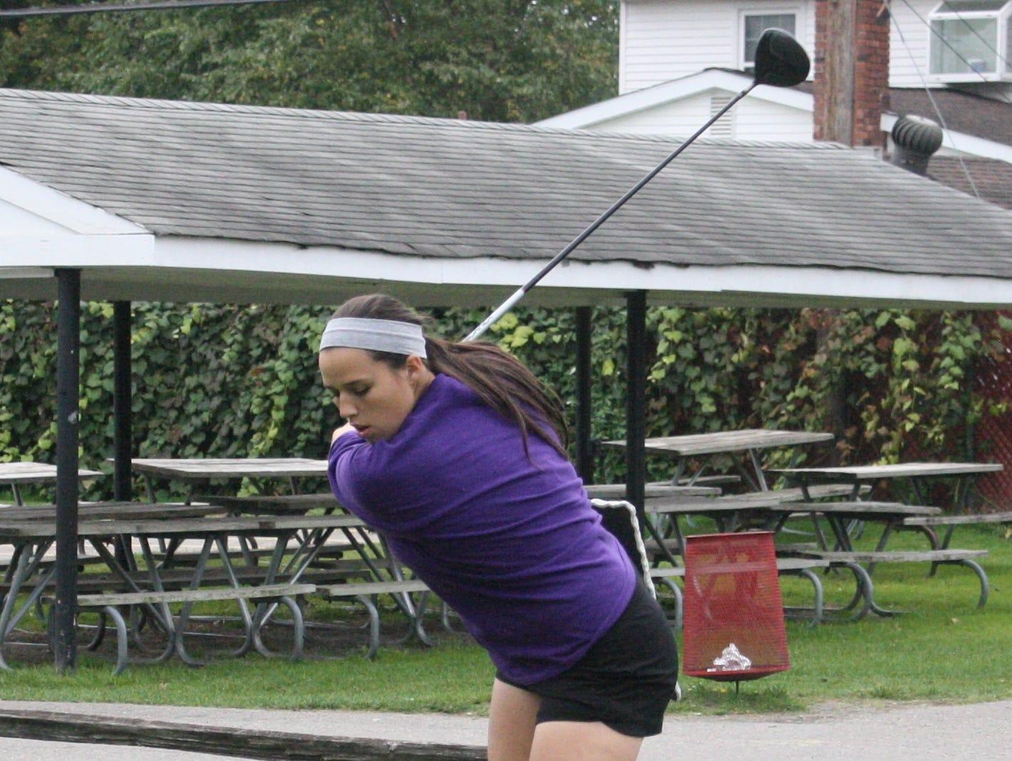 Kendall Payne has been Franklin's No. 1 golfer since her freshman season.