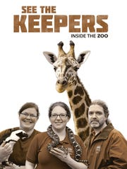 "Memphis zookeepers and zoo residents assembled (virtually, at least) for this promotional portrait for the documentary ""See the Keepers: Inside the Zoo."""