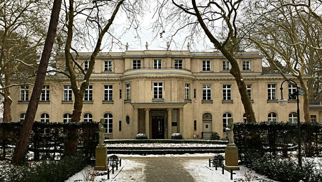 House of the Wannsee Conference in Berlin, Germany, on Jan. 11, 2017.