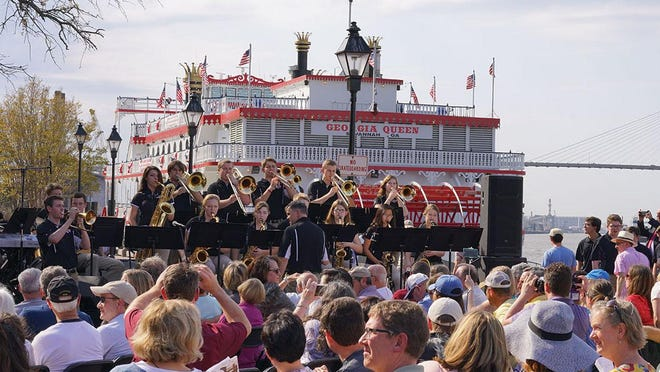 Jazz on the River is a free show at 4 p.m. April 5 at Rousakis Plaza on River Street.