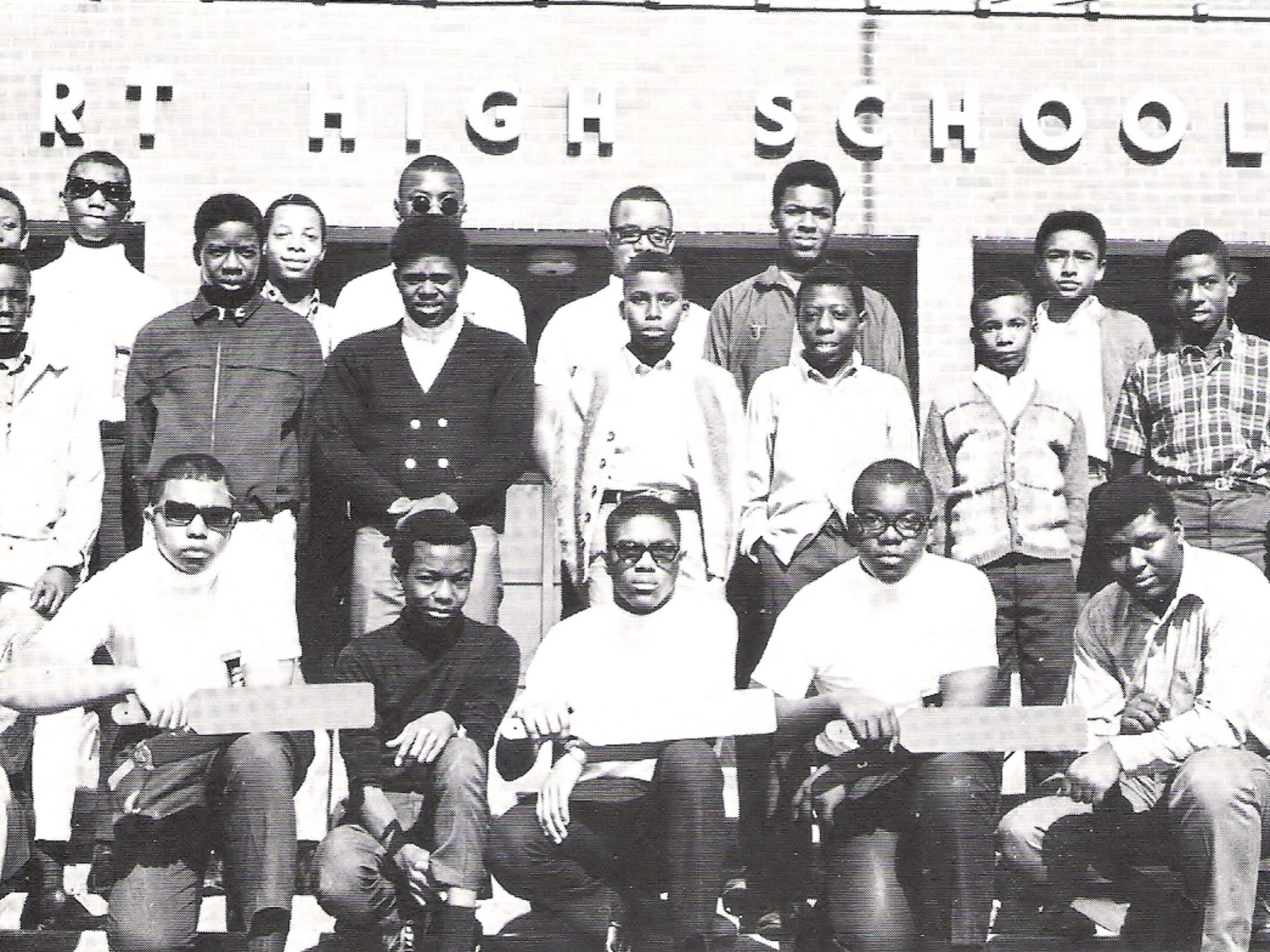 A Burt High School fraternity.
