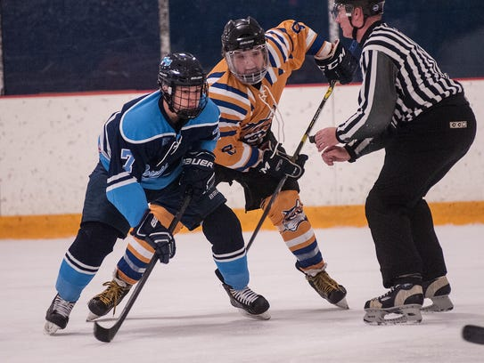 Ready for a face off Saturday are Northwood's Ethan