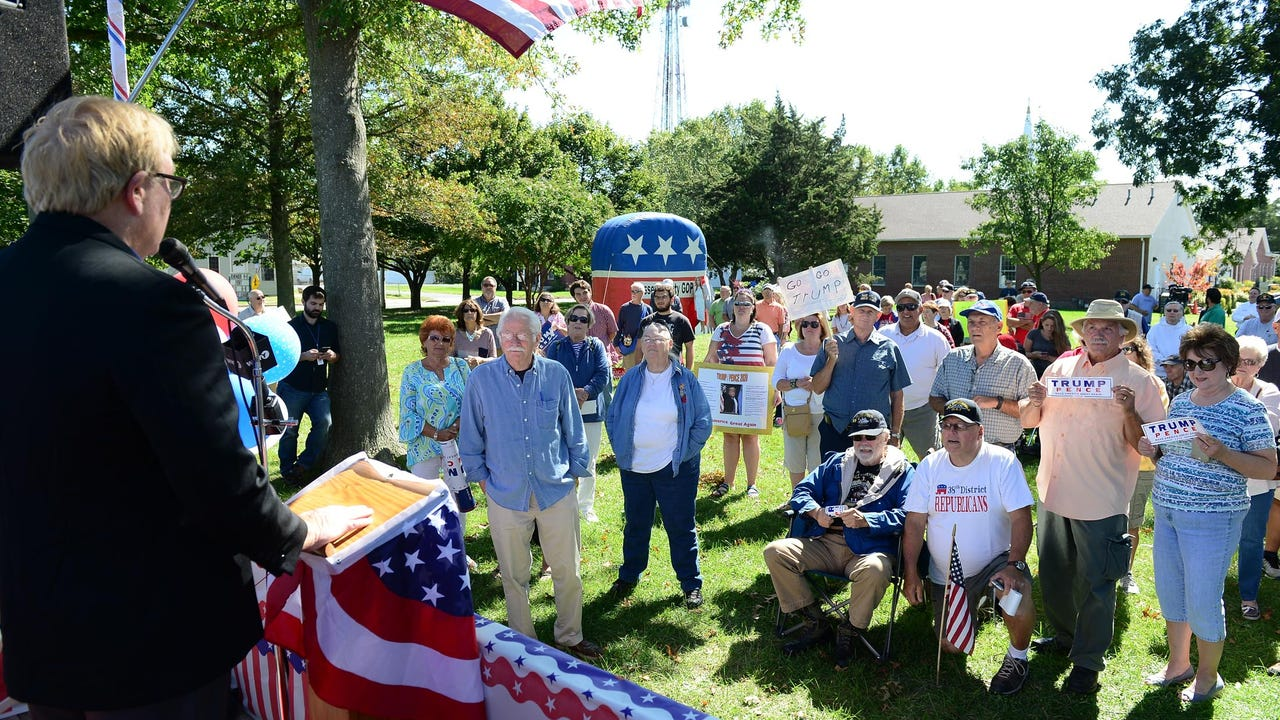 WATCH: 'Support Our President' rally in Georgetown, Del.