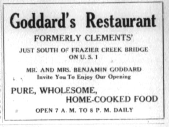 A newspaper ad announcing the change from Clement's