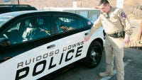 Ruidoso Downs Police Department activity.