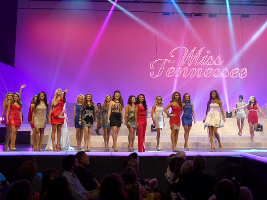 2017 Miss Tennessee Scholarship Pageant contestans