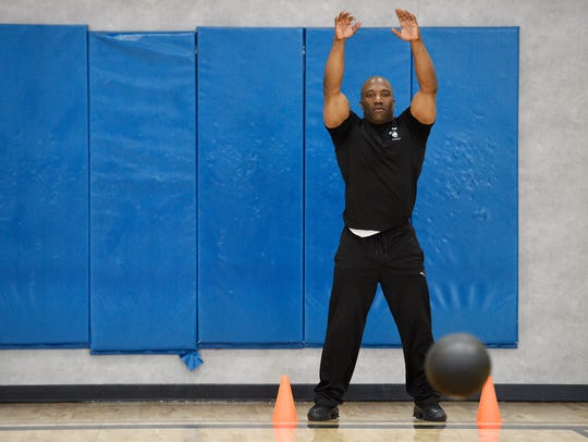 Roderick Smikle, a Personal Trainer at 24 Hour Fitness,