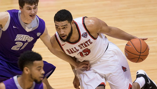 Franko House scored eight points in Ball State's loss to Akron on Saturday.