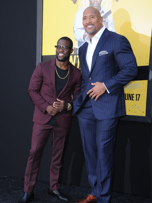Dwayne Johnson Kevin Hart Took Different Paths