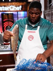 "MASTERCHEF: Contestant Gerron in the ""Big Not Easy"""