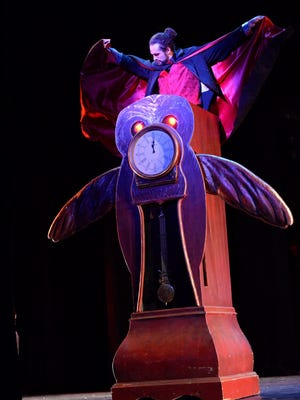 Joey Garcia is Drosselmeyer, the special uncle, in the Nutcracker at the Spencer Theater Dec. 17 and 18.