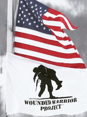 #Wounded #Warrior #Project #USA #veterans #Life goes on #flags #lohud on Jan. 14, 2015