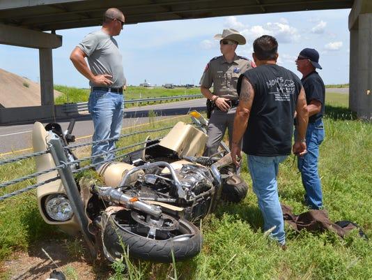 Vernon motorcycle wreck