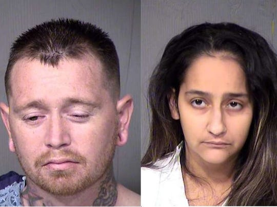 Kansas and Wendy Lavarnia were arrested in connection with the shooting of their 9-year-old son on March 20, 2017. The mother said her 2-year-old pulled the trigger, according to police.
