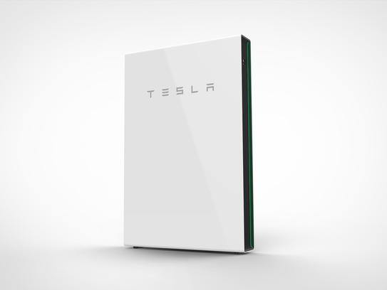 Tesla's Powerwall battery.