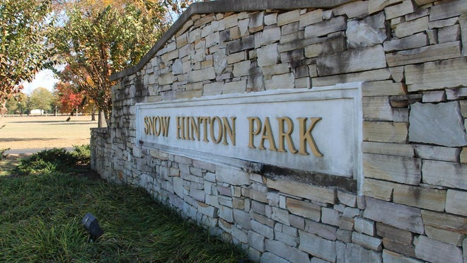 Snow Hinton Park in Tuscaloosa.