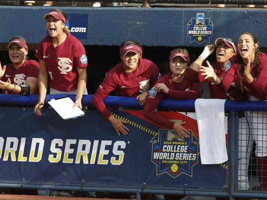 WCWS Florida St Washington Softball