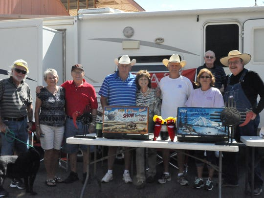 It's a traveling chili posse at the  New Mexico State Open Chili Cook-Off and Chili Society Pod Chili Cook-Off, 11 a.m. until it's gone, Saturday and Sunday at the Ruidoso Downs Racetrack.