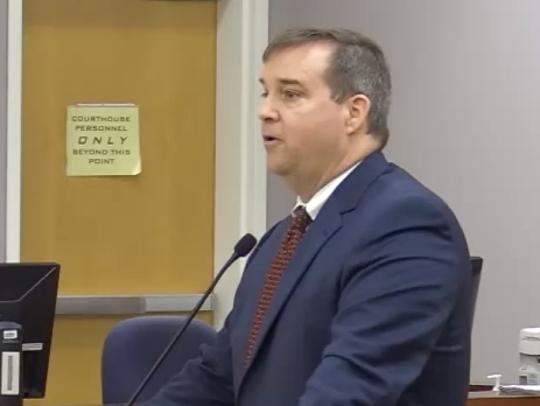 Prosecutor Bill Respess