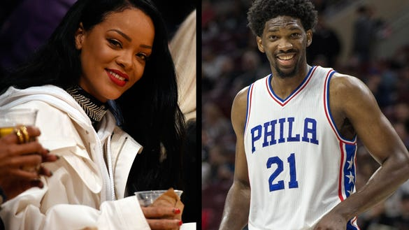 Joel Embiid has tweeted about Rihanna a lot.