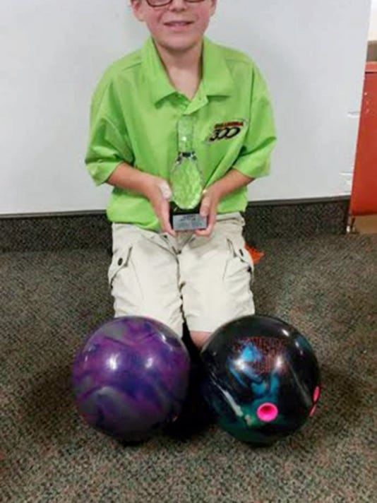 Darren Zombro III starred in the first Pennsylvania Junior Bowlers Tour event of the season last weekend.