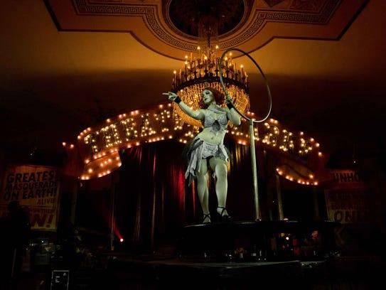 The Crystal Ballroom at Theatre Bizarre 2017.
