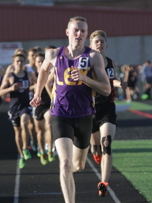 Lexington's Ryan Johnston heads for Columbus fresh off a school record time and regional championship in the metric mile.