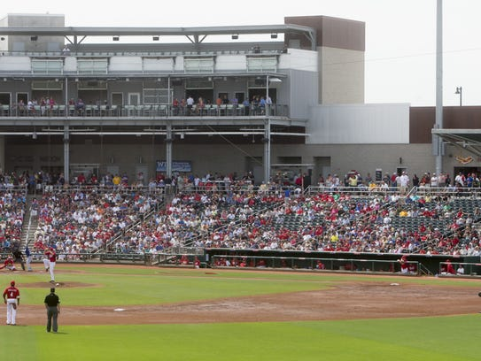Goodyear Ballpark opened in 2009.