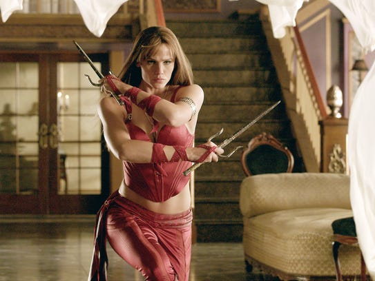 Jennifer Garner in the title role of the 'Daredevil'