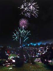 Pioneer Park Fireworks