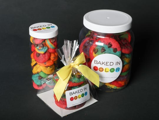 Baked in Color cookies. Thursday, April 12, 2018.