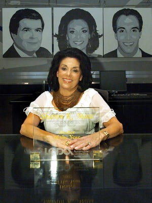 Sharon Moss, first woman to win the Louisiana Dealer of the Year Award Monday, July16, 2007.