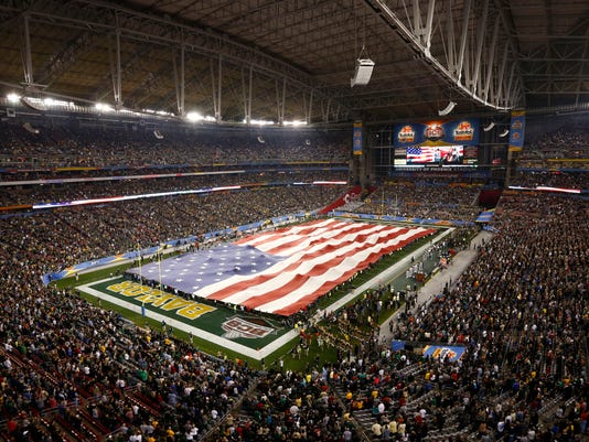College football 2016 National Championship Game