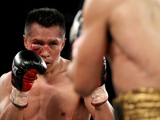 Francisco Vargas will headline an ESPN-televised fight card Thursday, April 12 in Indio.