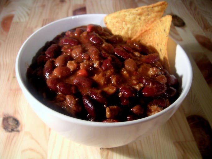 Texas chili con carne: While the rest of the country