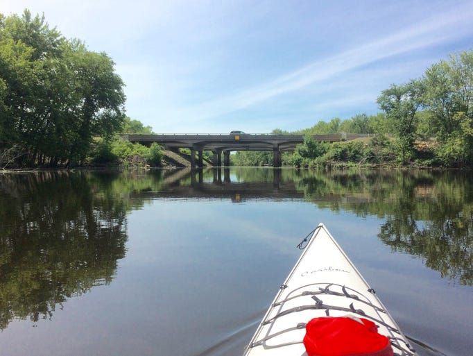 Steve Meurett kayaked the Mississippi River for the