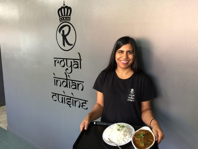 Meena Pegany, owner of the new Royal Indian Cuisine