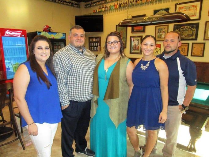 Caeli, Reaux, Tad and Beth Quebedeaux, Cheyenne Ramey