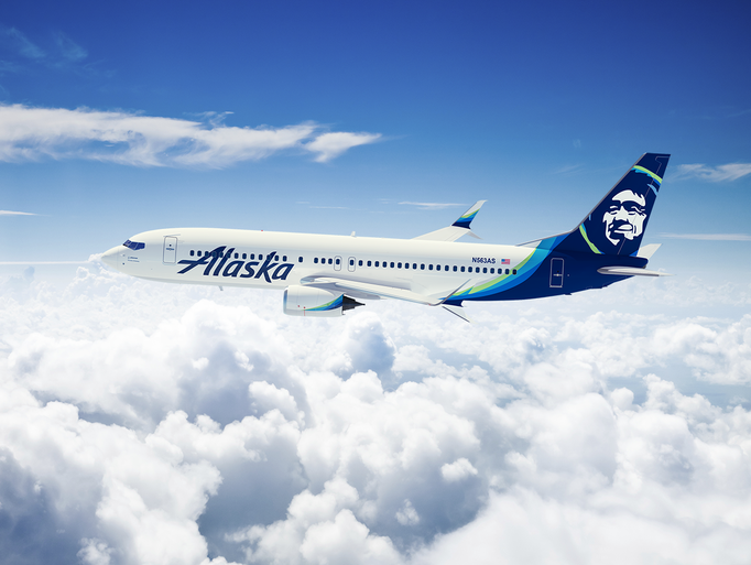 Alaska Airlines Unveils Makeover For Logo Airplanes