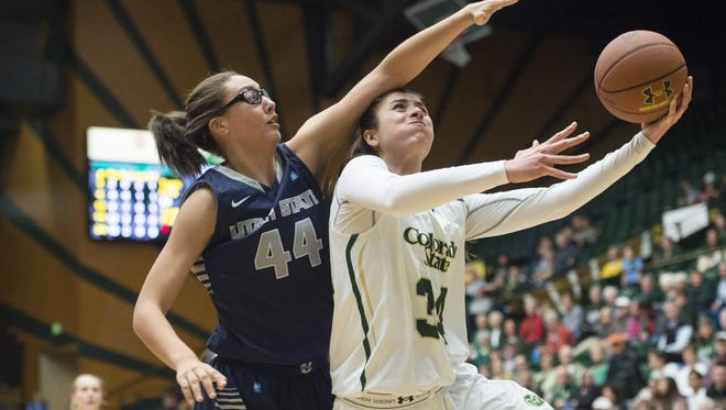 CSU forward Alana Arias is the leading candidate to win the MW Sixth Woman of the Year.