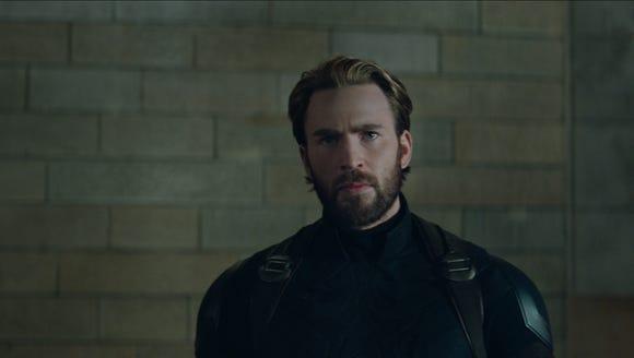 "Not only is Chris Evans' ""Avengers: Infinity War"" beard"
