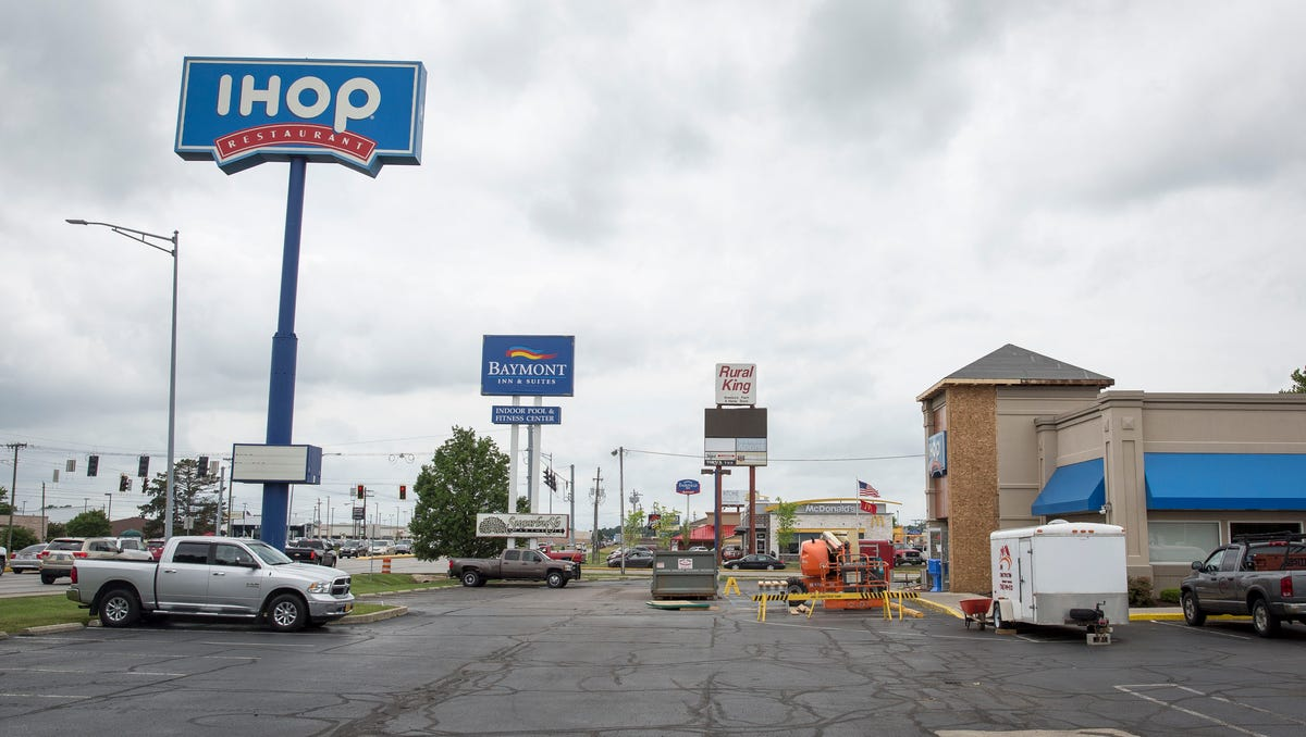 Yes, Muncie IHOP was closed for parts of this week. But not because ...