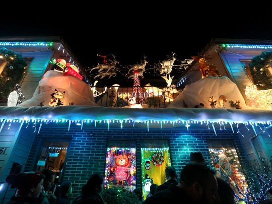 Lights at Gatti and Gatti Law in Salem are lit 5:30 to 8 p.m. Thursdays-Sundays through Dec. 23.