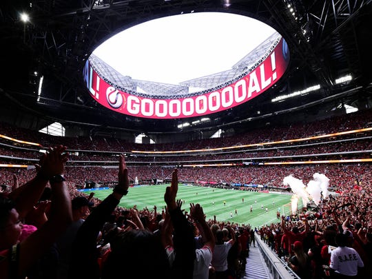 Mercedes-Benz Stadium will be a formidable home-field
