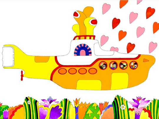 """Ron Campbell, the animator behind The Beatles' """"Yellow Submarine,"""" will make an appearance in Naples this weekend as part of his touring exhibition, Beatles Cartoon Art Show."""