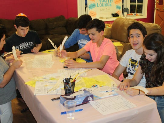With a crowd of teens and their families in attendance, Chabad of Hunterdon County's Teen Network (CTeen) held its annual end of year award ceremony May 24 to celebrate and recognize a year of dedicated community work which included helping those affected by hurricanes and aiding children in Africa.