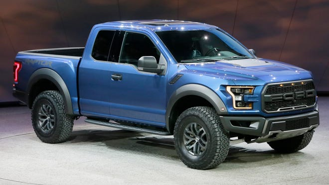 The Ford F-150 Raptor performance pickup unveiled this month at the Detroit Auto Show.